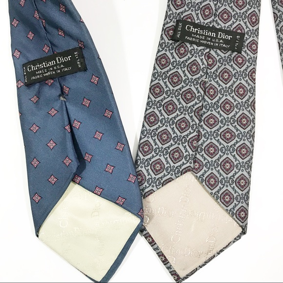 ccd547568b00 Dior Accessories | Christian 100 Silk Ties For Men | Poshmark